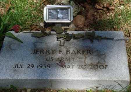 BAKER (VETERAN), JERRY E - Baxter County, Arkansas | JERRY E BAKER (VETERAN) - Arkansas Gravestone Photos