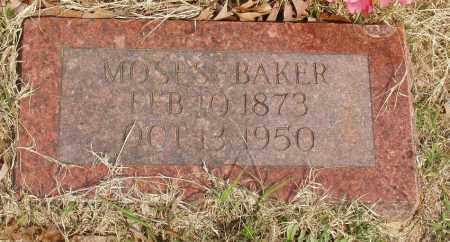 BAKER, MOSES - Baxter County, Arkansas | MOSES BAKER - Arkansas Gravestone Photos