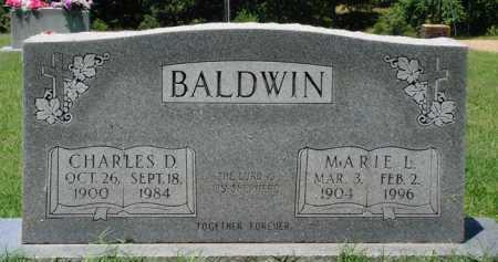 BALDWIN, CHARLES D. - Baxter County, Arkansas | CHARLES D. BALDWIN - Arkansas Gravestone Photos