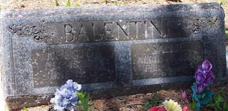 BALENTINE, SALLIE - Baxter County, Arkansas | SALLIE BALENTINE - Arkansas Gravestone Photos