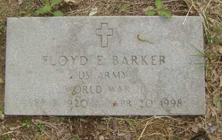 BARKER (VETERAN WWII), FLOYD E. - Baxter County, Arkansas | FLOYD E. BARKER (VETERAN WWII) - Arkansas Gravestone Photos