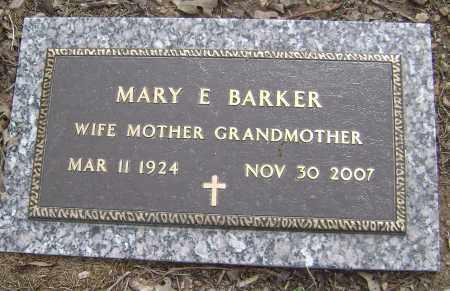 BARKER, MARY E. - Baxter County, Arkansas | MARY E. BARKER - Arkansas Gravestone Photos