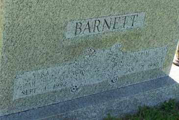 BARNETT, VERA E - Baxter County, Arkansas | VERA E BARNETT - Arkansas Gravestone Photos