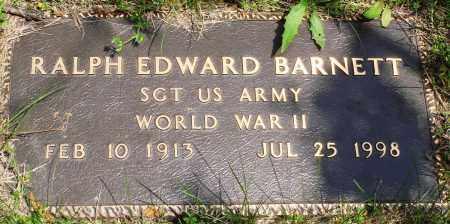 BARNETT (VETERAN WWII), RALPH EDWARD - Baxter County, Arkansas | RALPH EDWARD BARNETT (VETERAN WWII) - Arkansas Gravestone Photos