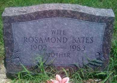 BATES, ROSAMOND - Baxter County, Arkansas | ROSAMOND BATES - Arkansas Gravestone Photos