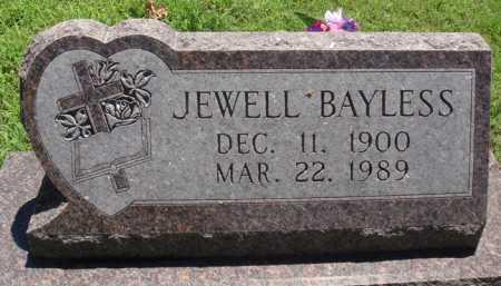 BAYLESS, JEWELL - Baxter County, Arkansas | JEWELL BAYLESS - Arkansas Gravestone Photos