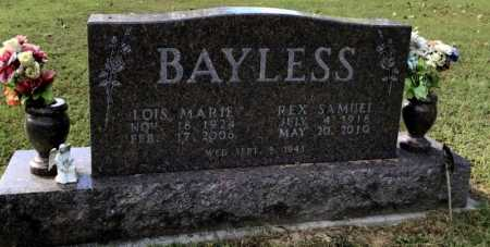 BAYLESS, LOIS MARIE - Baxter County, Arkansas | LOIS MARIE BAYLESS - Arkansas Gravestone Photos