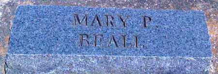 BEALL, MARY P - Baxter County, Arkansas   MARY P BEALL - Arkansas Gravestone Photos