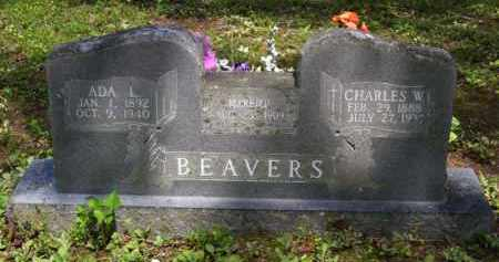 BEAVERS, CHARLES WILLIAM - Baxter County, Arkansas | CHARLES WILLIAM BEAVERS - Arkansas Gravestone Photos