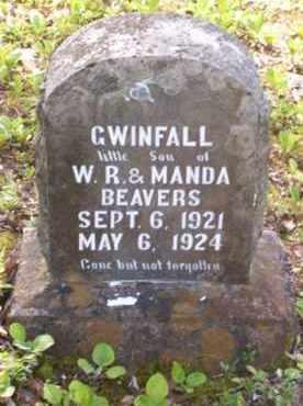 BEAVERS, GWINFALL - Baxter County, Arkansas   GWINFALL BEAVERS - Arkansas Gravestone Photos