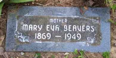 "CUNNINGHAM BEAVERS, MARY EVALINE ""EVIE"" - Baxter County, Arkansas 