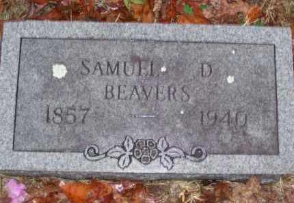 BEAVERS, SAMUEL DEHART 'SAM' - Baxter County, Arkansas | SAMUEL DEHART 'SAM' BEAVERS - Arkansas Gravestone Photos