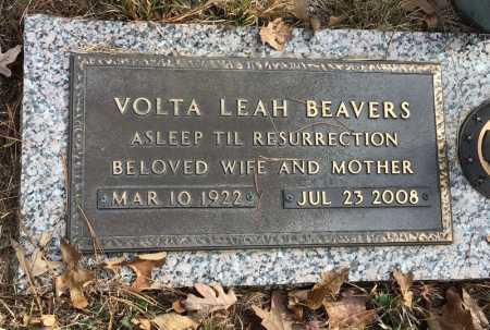 BEAVERS, VOLTA LEAH - Baxter County, Arkansas   VOLTA LEAH BEAVERS - Arkansas Gravestone Photos