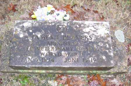 BEAVERS (VETERAN WWI), JAMES IRA - Baxter County, Arkansas | JAMES IRA BEAVERS (VETERAN WWI) - Arkansas Gravestone Photos