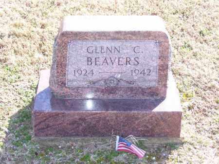 BEAVERS (VETERAN WWII, POW), GLENN C - Baxter County, Arkansas | GLENN C BEAVERS (VETERAN WWII, POW) - Arkansas Gravestone Photos