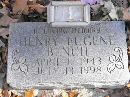 BENCH, HENRY EUGENE - Baxter County, Arkansas | HENRY EUGENE BENCH - Arkansas Gravestone Photos