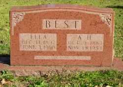 BEST, ARUNDLE HILL - Baxter County, Arkansas   ARUNDLE HILL BEST - Arkansas Gravestone Photos