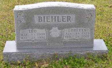 BIEHLER (VETERAN WWII), LORETTA - Baxter County, Arkansas | LORETTA BIEHLER (VETERAN WWII) - Arkansas Gravestone Photos
