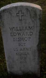BISHOP  (VETERAN KOR), WILLIAM EDWARD - Baxter County, Arkansas | WILLIAM EDWARD BISHOP  (VETERAN KOR) - Arkansas Gravestone Photos