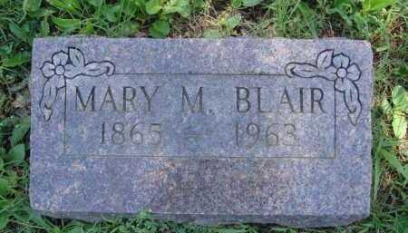 BLAIR, MARY M. - Baxter County, Arkansas | MARY M. BLAIR - Arkansas Gravestone Photos