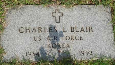 BLAIR (VETERAN KOR), CHARLES L - Baxter County, Arkansas   CHARLES L BLAIR (VETERAN KOR) - Arkansas Gravestone Photos