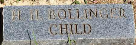 BOLLINGER, H H - Baxter County, Arkansas | H H BOLLINGER - Arkansas Gravestone Photos