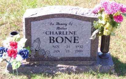 BONE, CHARLENE - Baxter County, Arkansas | CHARLENE BONE - Arkansas Gravestone Photos