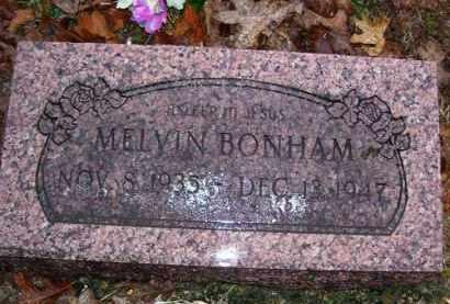 BONHAM, MELVIN - Baxter County, Arkansas | MELVIN BONHAM - Arkansas Gravestone Photos
