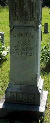 BOSS, NANCY M - Baxter County, Arkansas   NANCY M BOSS - Arkansas Gravestone Photos