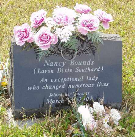 BOUNDS, NANCY - Baxter County, Arkansas | NANCY BOUNDS - Arkansas Gravestone Photos