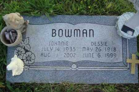 BOWMAN, DESSIE - Baxter County, Arkansas | DESSIE BOWMAN - Arkansas Gravestone Photos