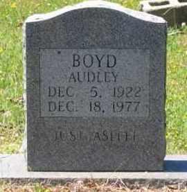 BOYD, AUDLEY - Baxter County, Arkansas | AUDLEY BOYD - Arkansas Gravestone Photos