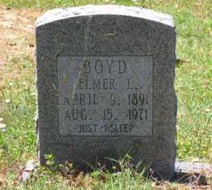 BOYD, ELMER L. - Baxter County, Arkansas   ELMER L. BOYD - Arkansas Gravestone Photos