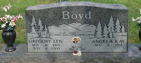 BOYD, GREGORY LYN - Baxter County, Arkansas | GREGORY LYN BOYD - Arkansas Gravestone Photos