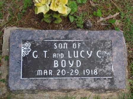 BOYD, INFANT SON - Baxter County, Arkansas | INFANT SON BOYD - Arkansas Gravestone Photos