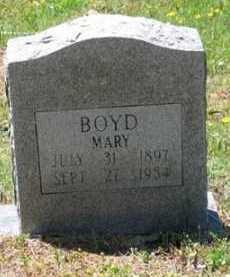 BOYD, MARY - Baxter County, Arkansas | MARY BOYD - Arkansas Gravestone Photos