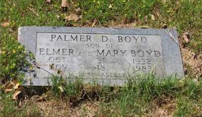 BOYD, PALMER D. - Baxter County, Arkansas | PALMER D. BOYD - Arkansas Gravestone Photos