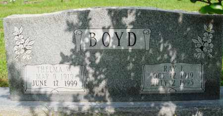 BOYD, RAY F - Baxter County, Arkansas | RAY F BOYD - Arkansas Gravestone Photos