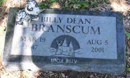 BRANSCUM, BILLY DEAN (OBIT) - Baxter County, Arkansas | BILLY DEAN (OBIT) BRANSCUM - Arkansas Gravestone Photos