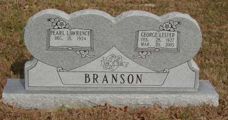 BRANSON, GEORGE LESTER - Baxter County, Arkansas | GEORGE LESTER BRANSON - Arkansas Gravestone Photos