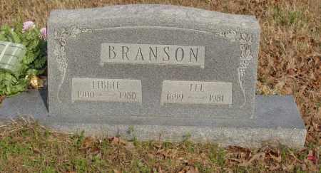 BRANSON, LIBBIE - Baxter County, Arkansas | LIBBIE BRANSON - Arkansas Gravestone Photos