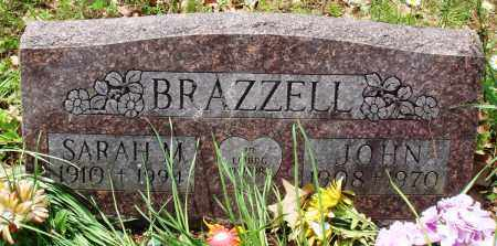 BRAZZELL, SARAH M - Baxter County, Arkansas   SARAH M BRAZZELL - Arkansas Gravestone Photos