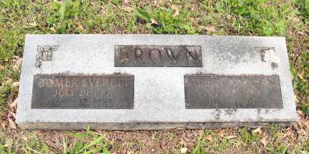 BROWN, HOMER EVERETT - Baxter County, Arkansas   HOMER EVERETT BROWN - Arkansas Gravestone Photos