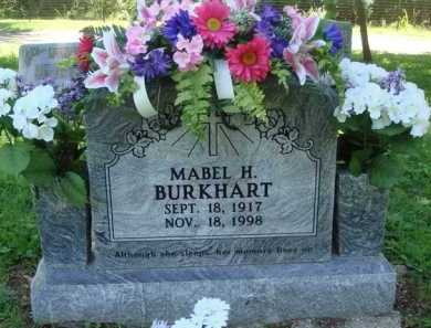 BURKHART, MABEL H. - Baxter County, Arkansas | MABEL H. BURKHART - Arkansas Gravestone Photos