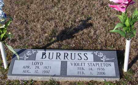 STAPLETON BURRUSS, VIOLET - Baxter County, Arkansas | VIOLET STAPLETON BURRUSS - Arkansas Gravestone Photos