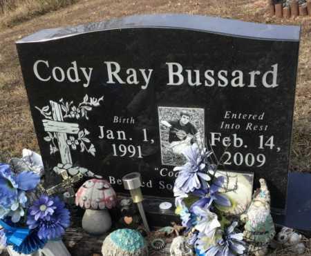 BUSSARD, CODY RAY - Baxter County, Arkansas | CODY RAY BUSSARD - Arkansas Gravestone Photos