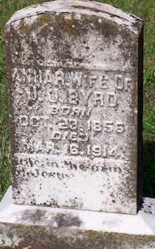 BYRD, ANNA - Baxter County, Arkansas   ANNA BYRD - Arkansas Gravestone Photos