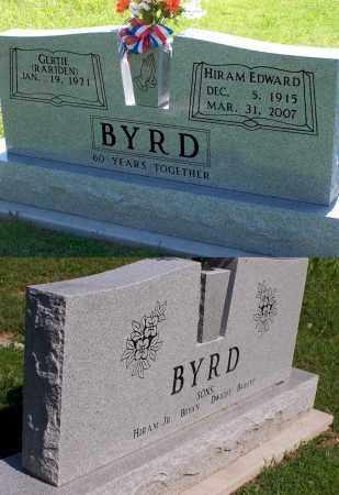 BYRD, GERTIE - Baxter County, Arkansas | GERTIE BYRD - Arkansas Gravestone Photos