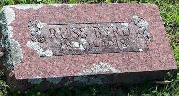 BYRD, RUSS - Baxter County, Arkansas   RUSS BYRD - Arkansas Gravestone Photos