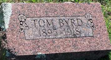 BYRD, TOM - Baxter County, Arkansas | TOM BYRD - Arkansas Gravestone Photos
